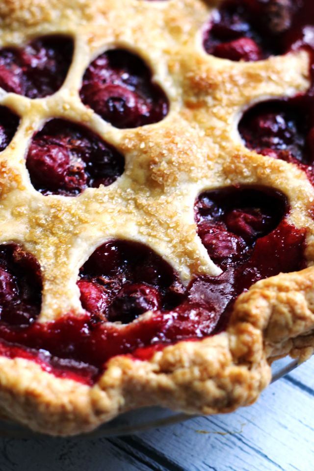 Best Ever Sour Cherry Pie