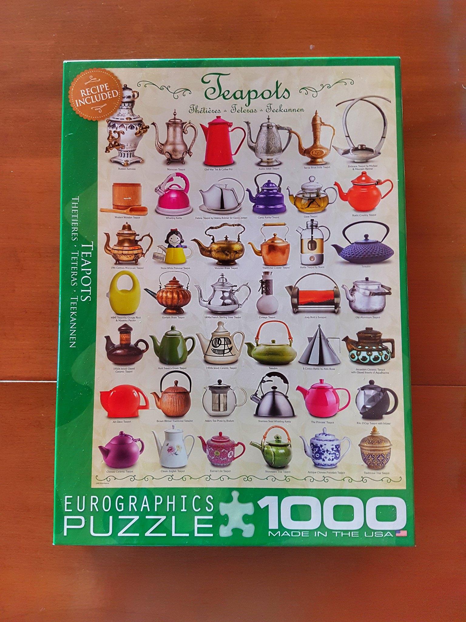 Teapots Puzzle