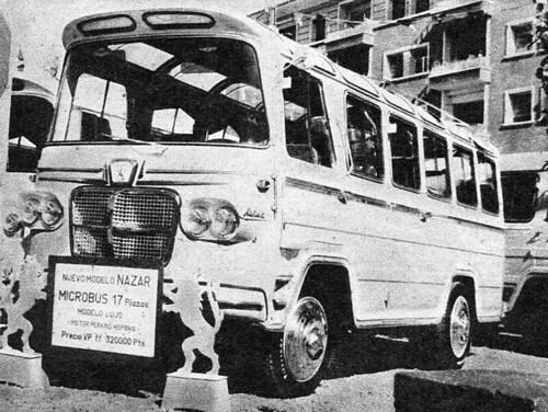 nazar microbus luxe fira