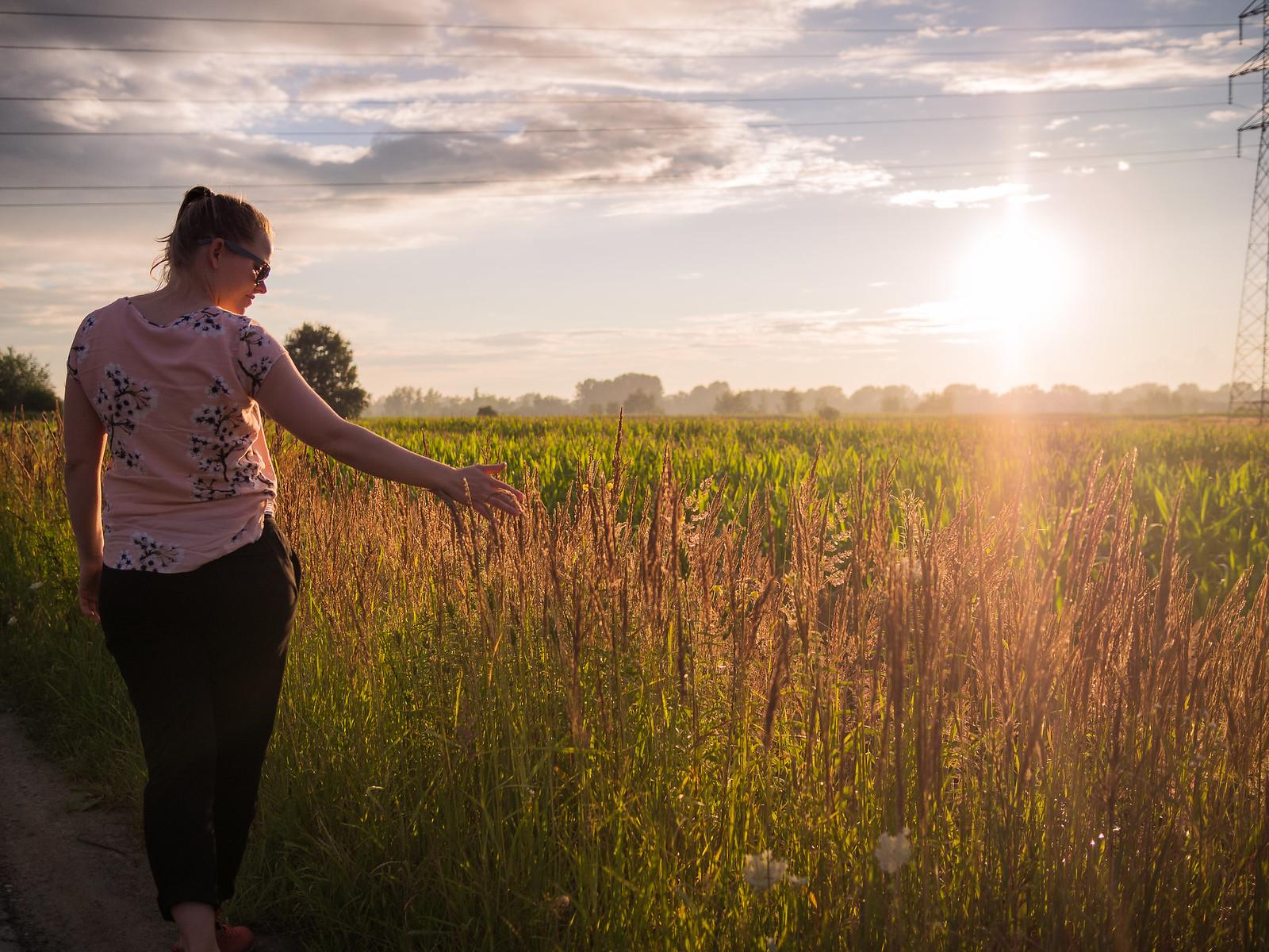 Auringonlaskun hetki Etelä-Puolassa