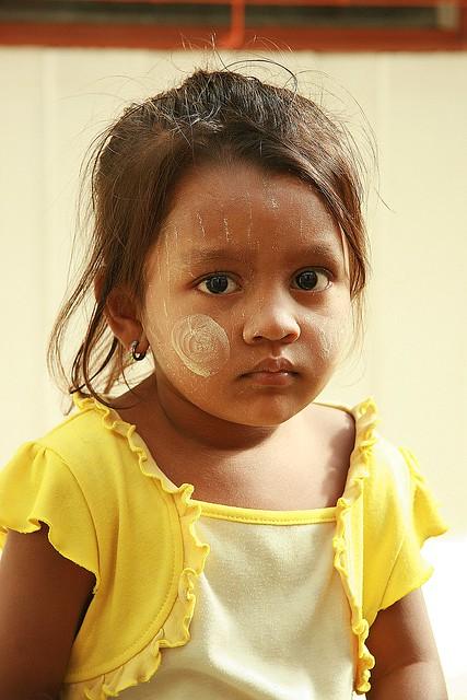 cute burmese girl