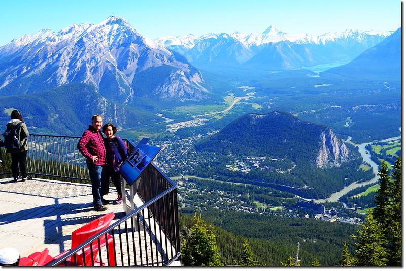 Taken from Banff Gondola Sanson Peak Observation Point 2