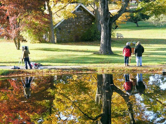 Painting Autumn Scene