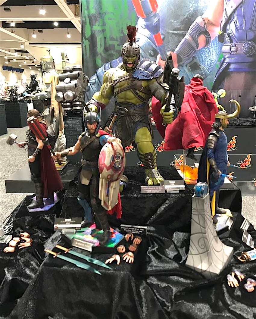 THOR RAGNAROK By Hot Toys Revealed At San Diego Comic Con 2017