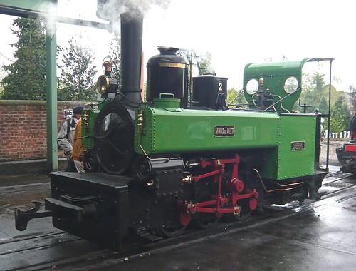 'Minas de Aller' No. 2 0-6-0PT at the 'Statfold Barn Railway' on 'Dennis Basford's railsroadsrunways.blogspot.co.uk