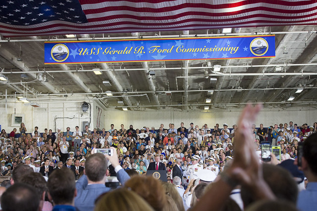 Commissioning Ceremony of the USS Gerald R. Ford