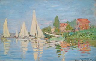 Claude Monet, Regatta at Argenteuil, 1872