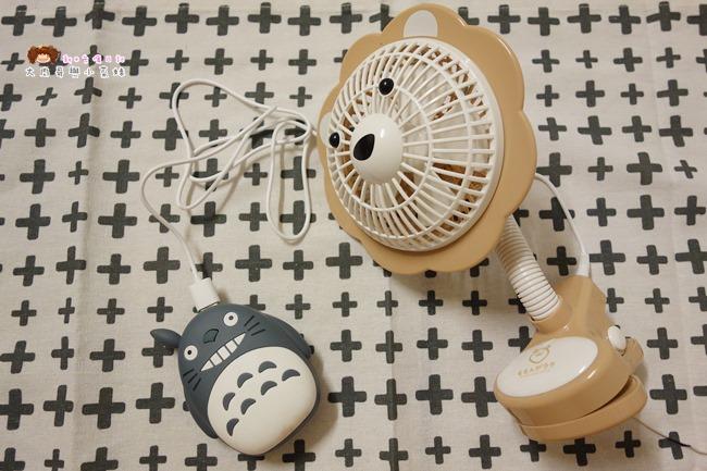 Momonga.Latte日本夾式電風扇 (8).JPG