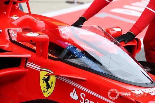 Ferrari ja ohjaamon suoja 14.7.2017
