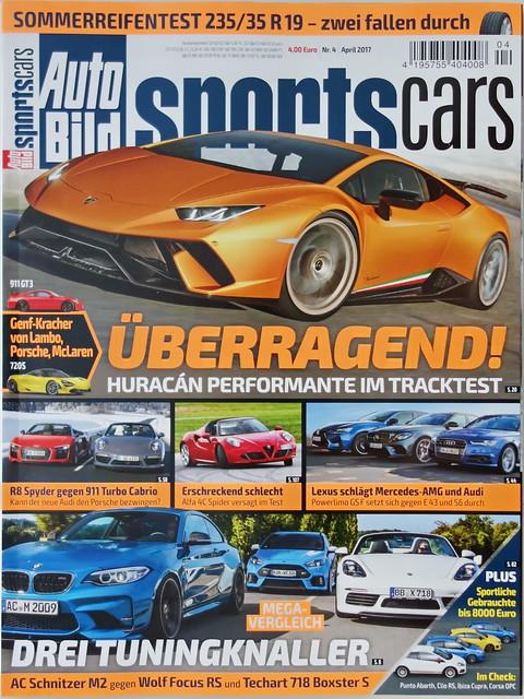 Auto Bild Sportscars 4/2017