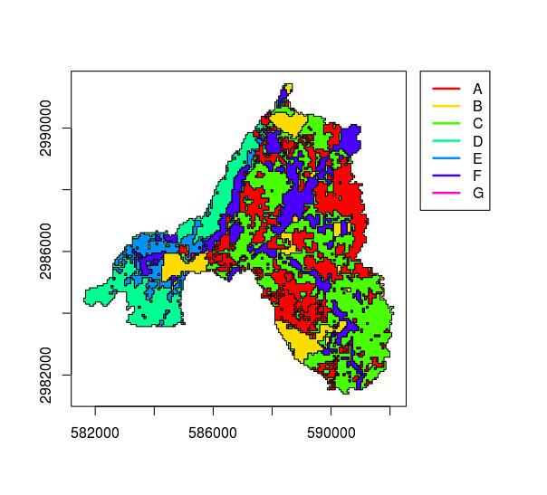 raster - How to correctly plot SpatialPolygonDataFrames in