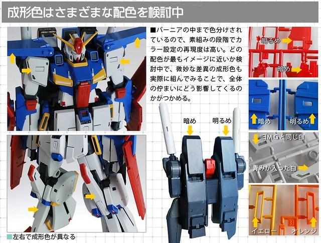 MG 1/100 MSZ-010 ZZ Gundam Ver. Ka