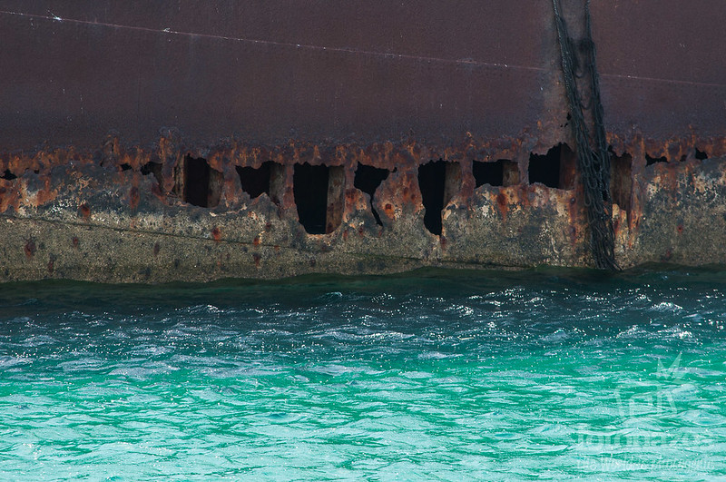 Temple Hall - Barco hundido en Arrecife