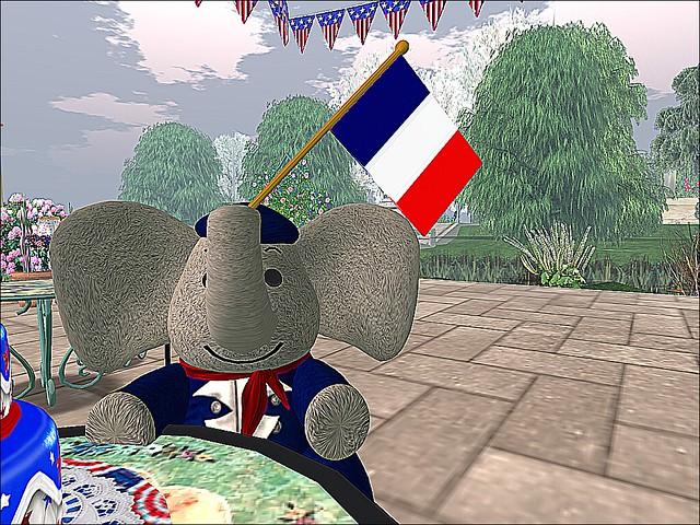 Happy Bastille Day!!f - Bastille Day Baby Babar