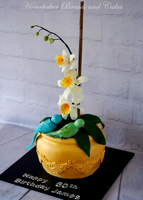 Orchid Cake by Homebaker Breads and Cakes