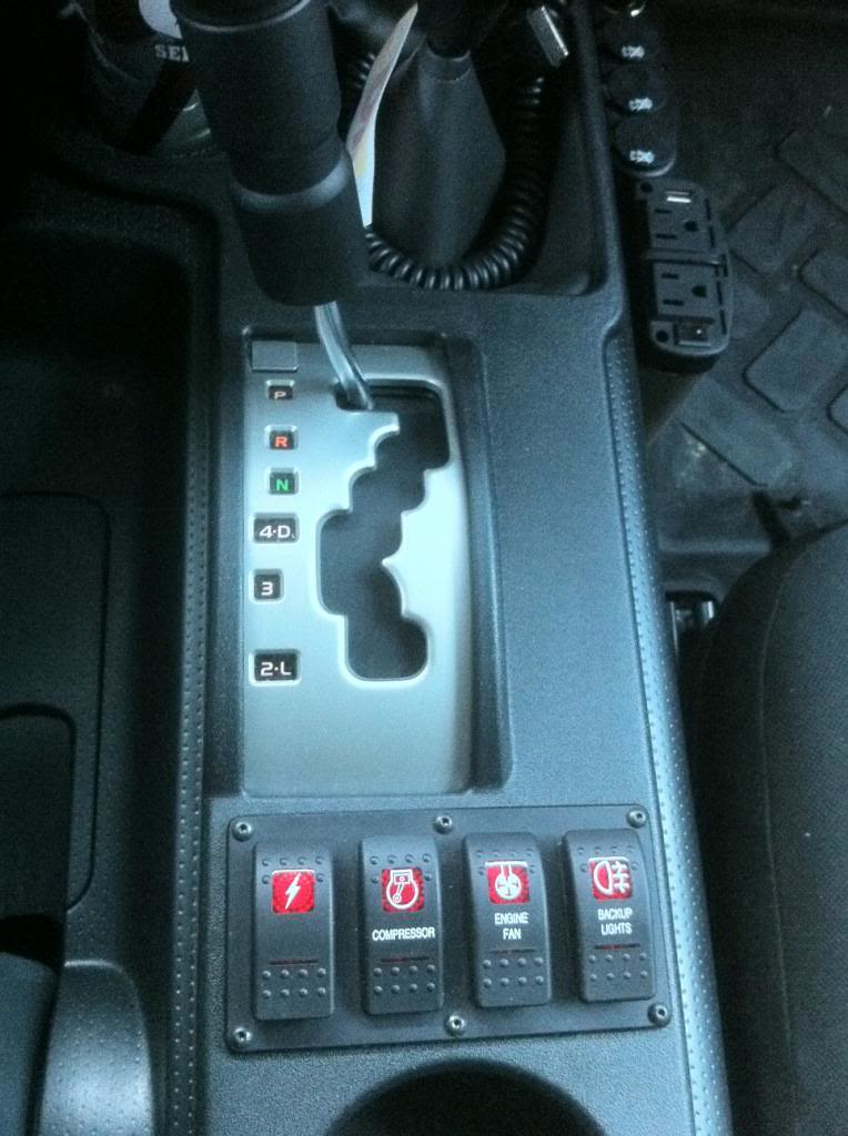 Switches In Center Console Toyota Fj Cruiser Forum