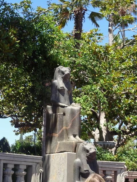 Egyptian statues that were, Sony DSC-HX50V