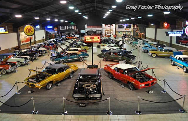 The Milton Robson muscle car collection. This is what just over 9 million dollar$ looks like sitting on the shelf.