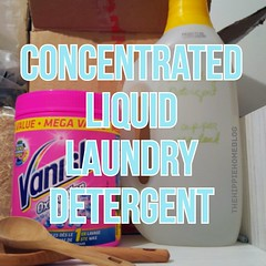Concentrated Liquid Laundry Detergent recipe