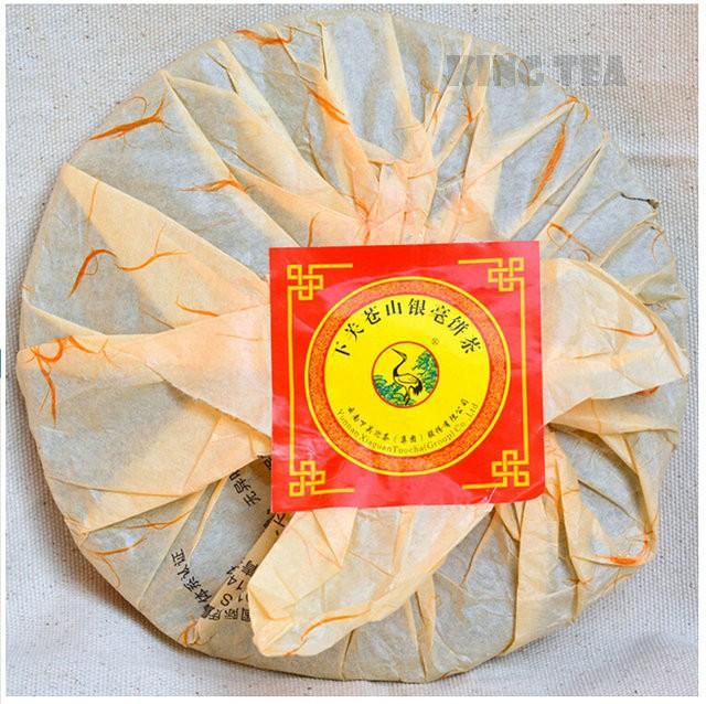 Free Shipping 2012 XiaGuan CangShanYinHao Cake 400g China YunNan KunMing Chinese Puer Puerh Raw Tea Sheng Cha Weight Loss Slim