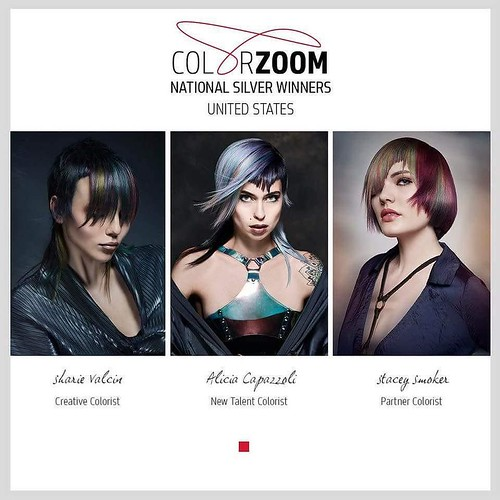 Another Huge Congrats due to the Silver Finalists for #goldwellUS #Colorzoom2017 Big shout out to #NAHA 2016 finalist @stacey_smoker what an amazing talented stylist! #IAMGOLDWELL