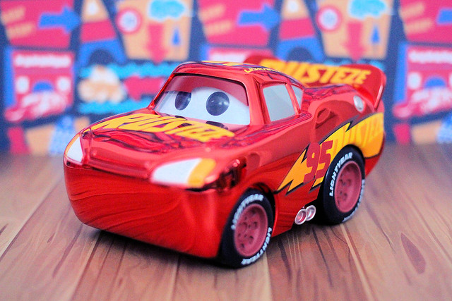 Funko Pop! Vinyl - Chrome Lightning McQueen