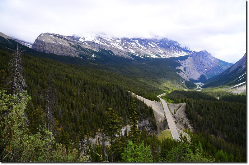 The scenery along  AB-93 N(Icefields Parkway) (15)