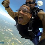 Tandem Skydiving Student