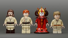 My Lego Star Wars Custom Minifigure Collection