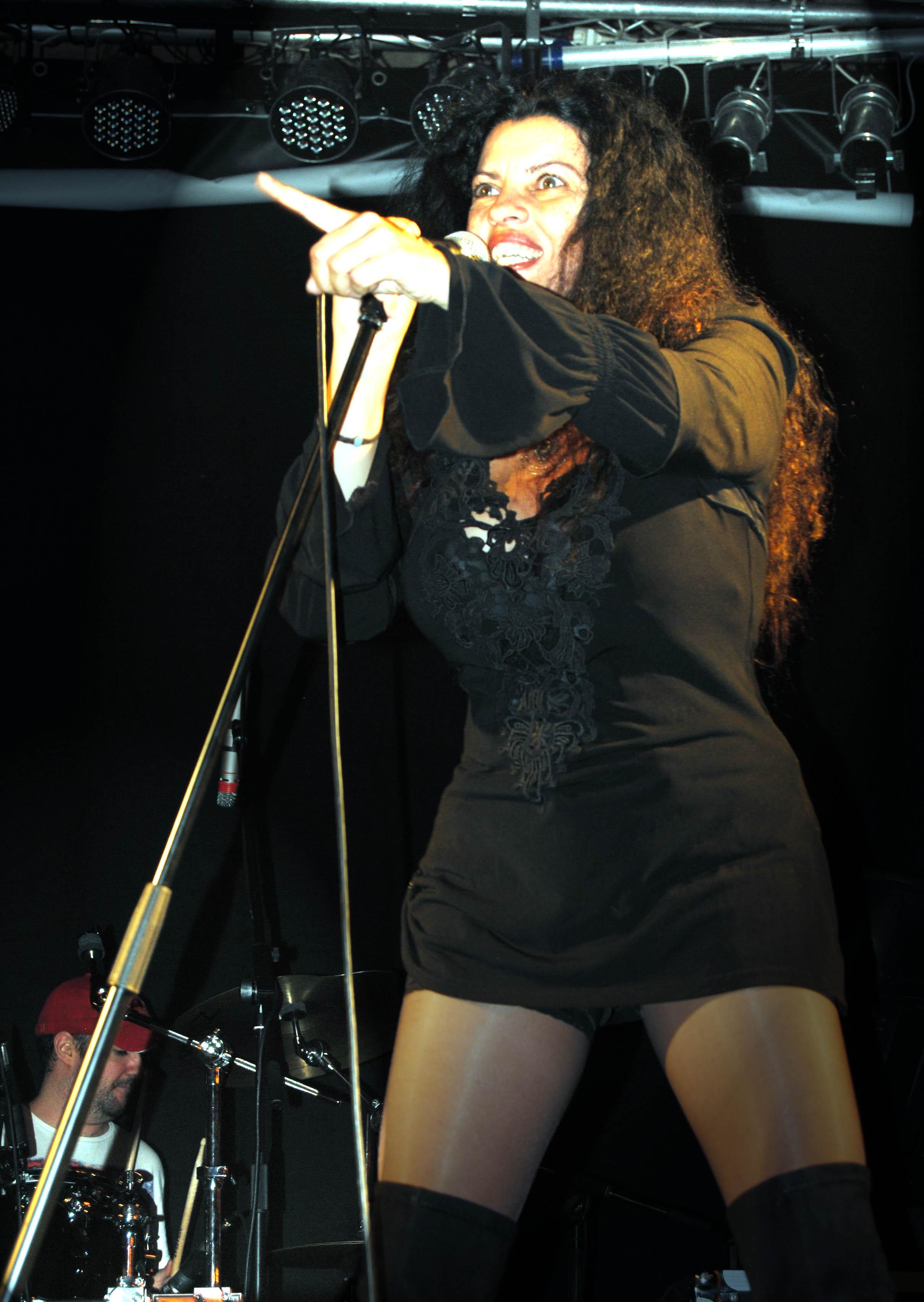Rock In Tiétar. Nanny Vergel