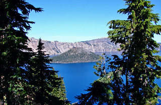 Crater Lake NP, Wizard Island, OR 9-06