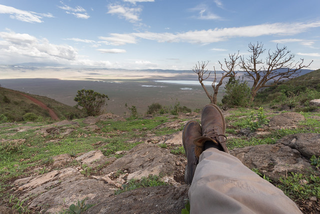 Ngorongoro Crater - Traveling Boots
