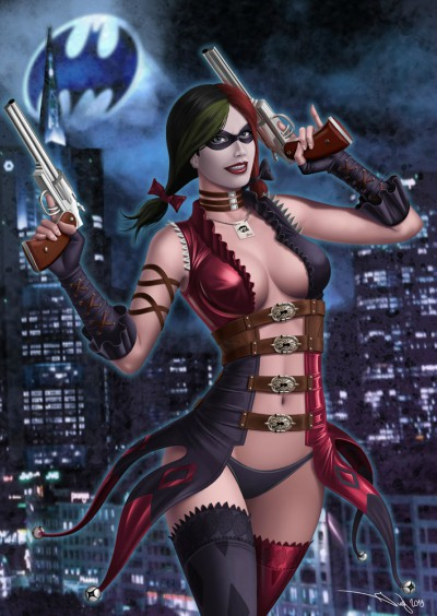 Batman Injustice Harley by Lucy & Aldana