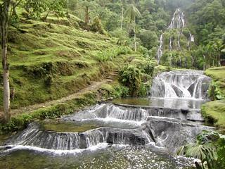 Santa Rosa De Cabal waterfalls Colombia