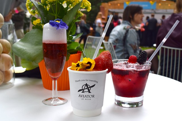 Cocktails from Aviation Bar at Hush Mayfair, Cocktails in the City 2017 | www.rachelphipps.com @rachelphipps