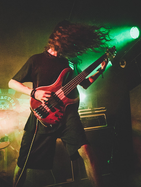 ANALEPSY + HUMAN VIVISECTION + PHRYMERIAL + COUNTERACTT - Madrid 25/07/2017