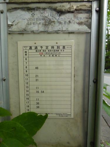 龍王峡 ryuoukyovalley 日光交通バス nikkokotsubus 栃木県日光市 nikkotochigi