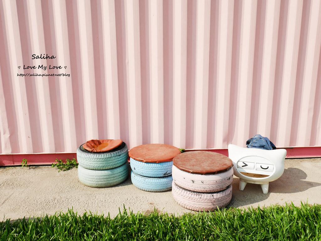 台中沙鹿區一日遊景點推薦好好小館超好拍彩色貨櫃屋婚紗外拍 (3)