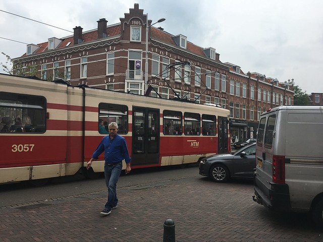 01. Tram, Car, Ped