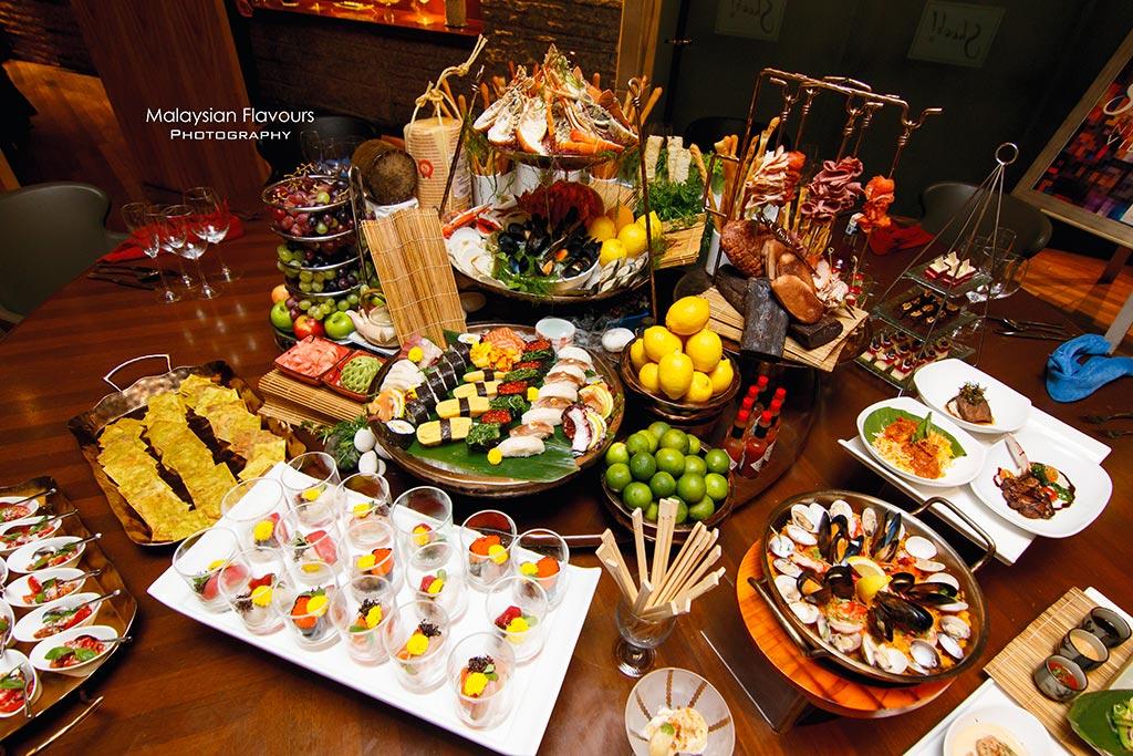 Shook! Feast Village Starhill Gallery Kuala Lumpur