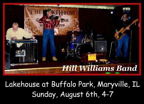 Hill Williams Band 8-6-17