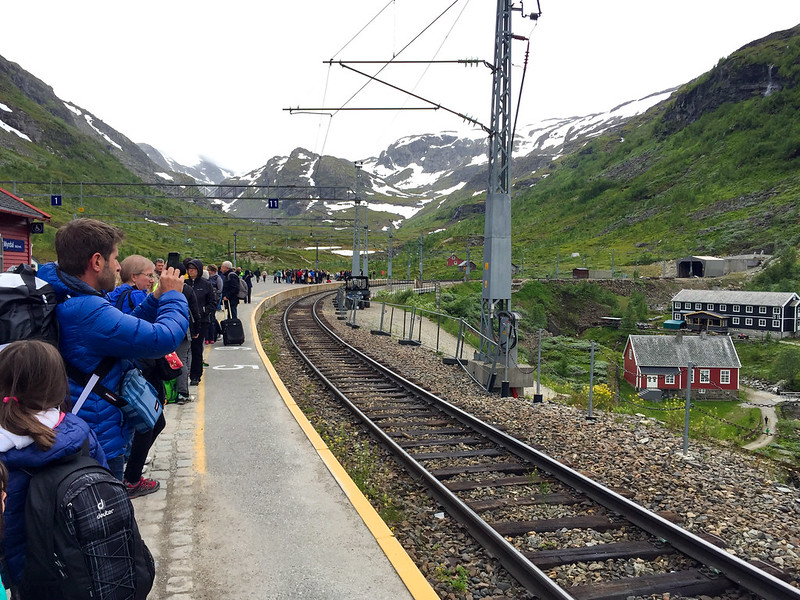 Train station in Myrdal