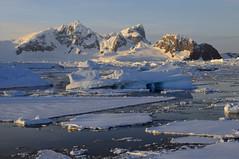 Early morning at Crystal Sound, Antarctica