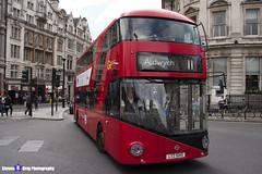 Wrightbus NRM NBFL - LTZ 1045 - LT45 - Aldwych 11 - Go Ahead London - London 2017 - Steven Gray - IMG_0252