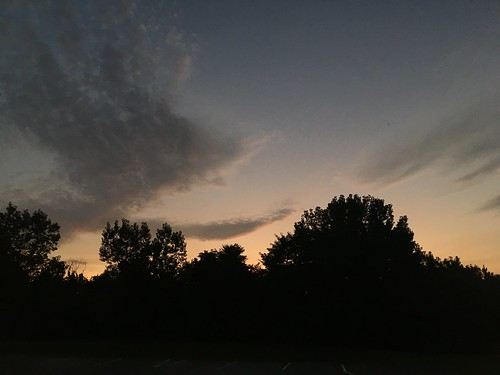 sunset 16 August 2017