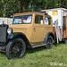 Vintage car plus caravan