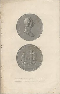 Lupia Allston Medal Engraving by Ormsby