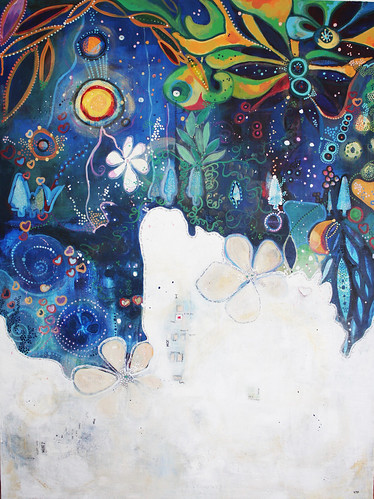 Birth of Color by artist Vanessa Pineda Fox