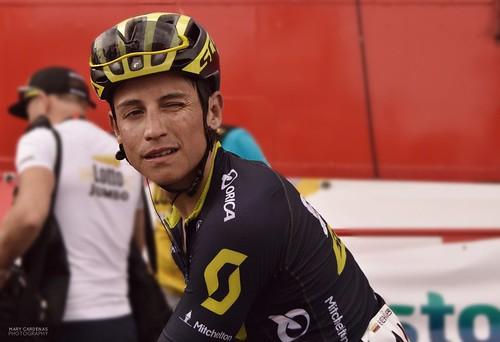 Esteban Chaves, Vuelta a España 2017