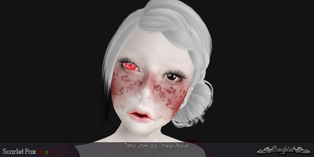 ~SongBird~ Scarlet Pox - SecondLifeHub.com